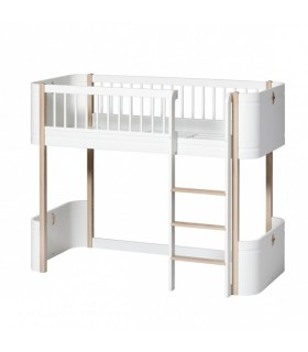 CAMA LOW LOFT WOOD MINI+  OLIVER FURNITURE