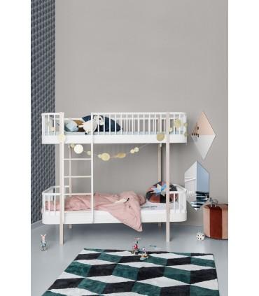WOOD BUNK BED LADDER/FRONT OLIVER FURNITURE