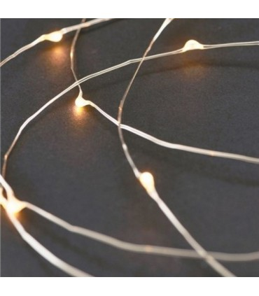 STRING LIGHTS SILVER HOUSE DOCTOR TATTOOKIDSSTORE.ES