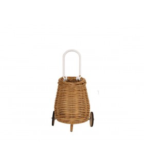 DOLL LUGGY BASKET NATURAL